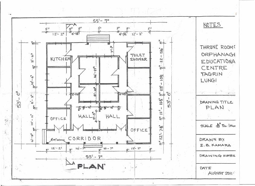 Orphanage Building Plans